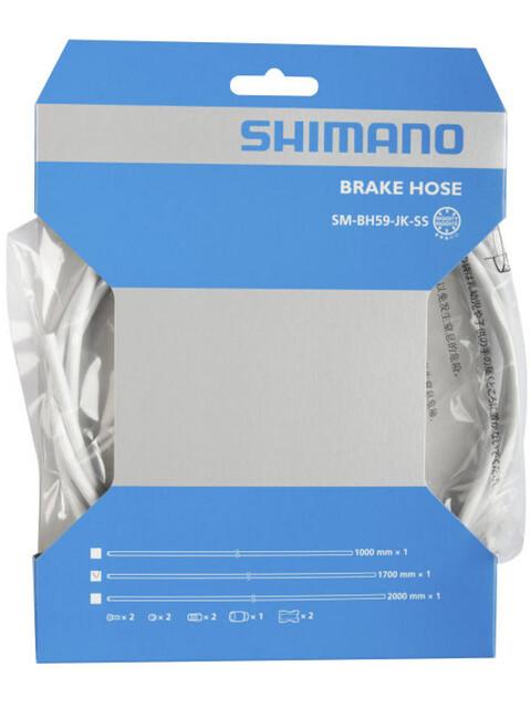 Shimano SM-BH59-JK-SS Bremsekabel hvid